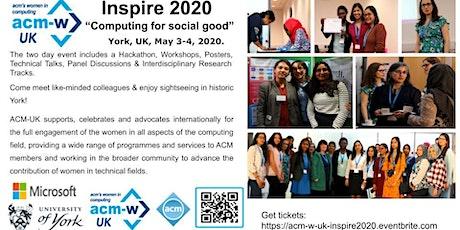 ACM-W UK Inspire 2020 tickets