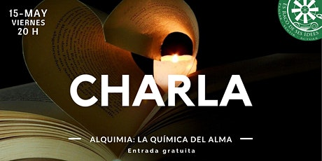 Charla-coloquio: Alquimia, la química del alma entradas