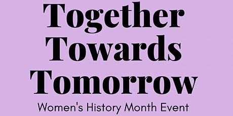 Together Towards Tomorrow tickets