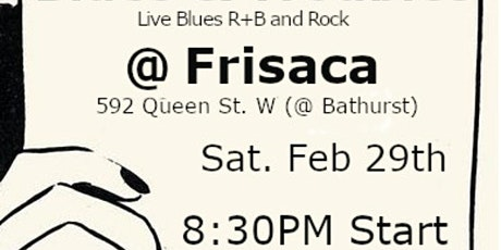 Blues & Trouble- Live Music- Blues music tickets