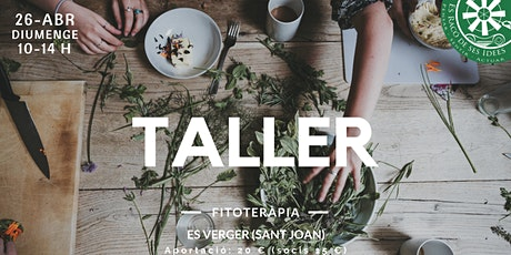 Taller: Fitoterapia Tickets