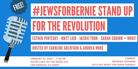 #JewsForBernie Stand up for the Revolution tickets