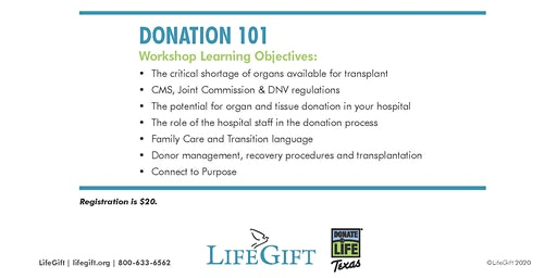 The Key to Organ & Tissue Donation - Fort Worth Convention Center