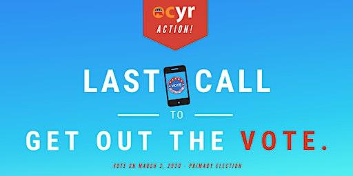 LAST CALL - OCYR Call Night for Candidates - Night 2