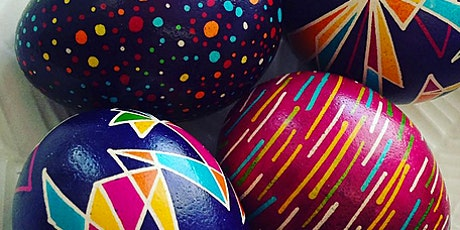 Easter Egg Design Workshop (9yrs+) entradas
