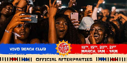 Afro Nation Puerto Rico 2020 | Official Afterparties