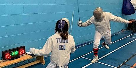 West Lothian Fencing Club - Tri-Weapon Training Day - Sunday 8th March  tickets