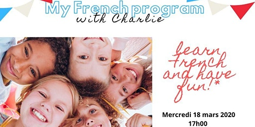 My French Program with Charlie (Workshop for kids)