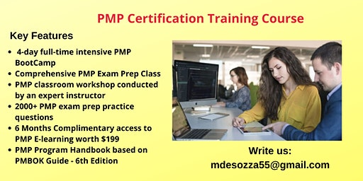PMP Exam Prep Training in El Centro, CA