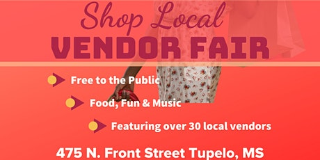 Shop Local Vendor Fair tickets