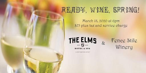 Ready, Wine, Spring!