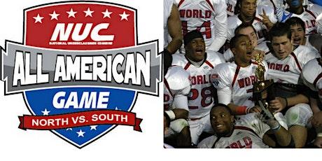 NUC All American Football Game Week December 27th-30th 2020 Savannah, GA  tickets