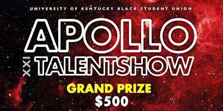 Apollo XXI - Talent Show tickets