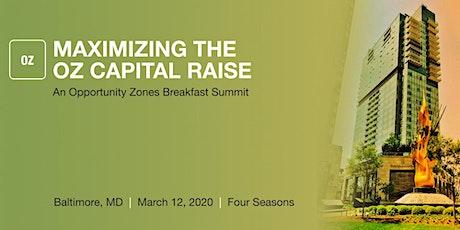 Opportunity Zones Breakfast Summit - Baltimore tickets