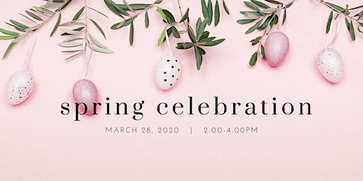 Spring Celebration and Easter Egg Hunt!