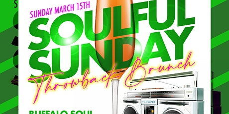 Soulful Sunday Throwback Brunch tickets