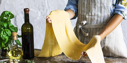 Sunday Passion in the Kitchen-Pasta Making Workshop 4.19.20