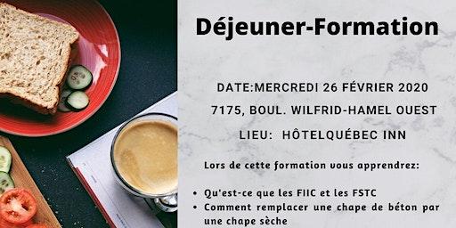 Déjeuner-Formation Matériaux Bomat + Fermacell