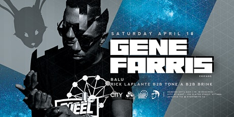 Gene Farris at White Rabbit - Dancing 11pm to 6am tickets