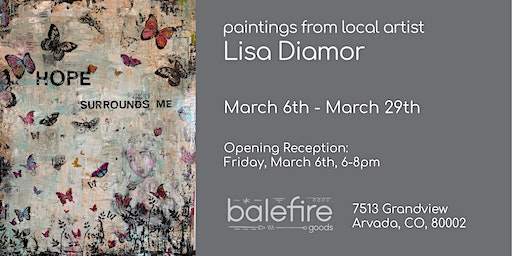 First Friday Featuring Lisa Diamor