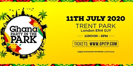 Ghana Party in the Park 2020 tickets