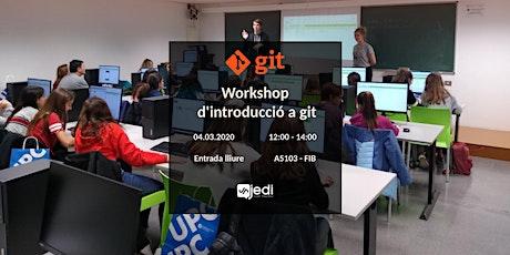 Workshop d'introducció a git i GitHub entradas