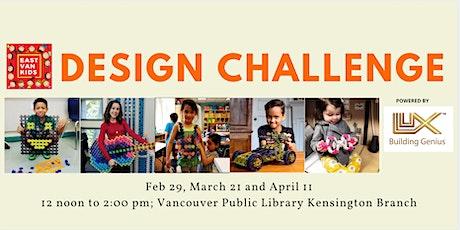 Luxblox Design Challenge tickets