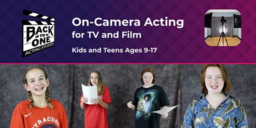 Kids/Teens - On-Camera Acting for TV & Film