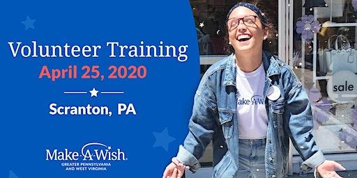 Make-A-Wish Volunteer Training - Scranton, PA