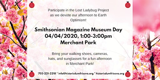 Smithsonian Magazine Museum Day: Out in the Park!
