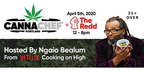 CannaChef Portland - Canna Cooking Competition at The REDD on Salmon tickets
