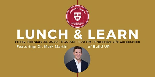 Lunch and Learn: Mark Martin with Build Up