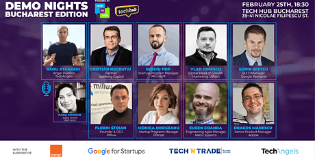 Demo Nights Bucharest // Early Stage Investment tickets