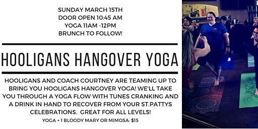 Hooligans Hangover Yoga