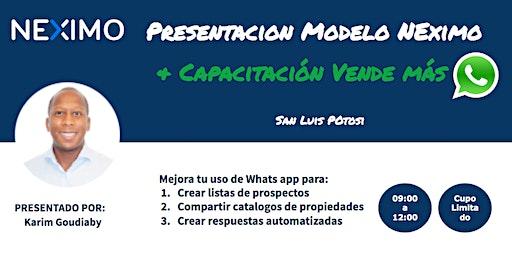 Entrenamiento Inmobiliario SLP - Vender mas con Whats APP