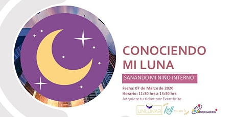 WORKSHOP: Conociendo mi Luna - Sanando mi niño interno entradas