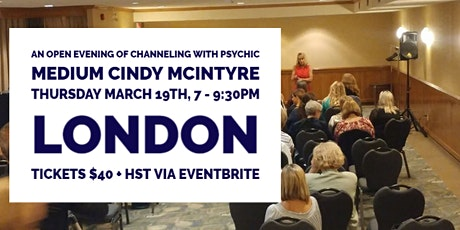 An Open Evening of Channeling with Cindy McIntyre of Trillium II tickets