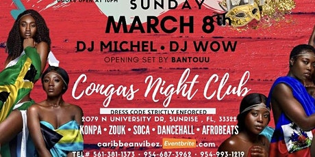 Caribbean Vibes Sunday March 8th  tickets