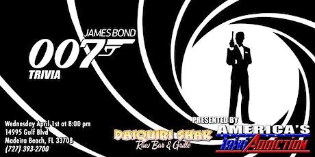 James Bond Trivia tickets