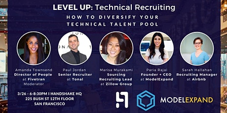 LEVEL UP: Technical Recruiting tickets