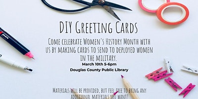 Adult Craft: DIY Greeting Cards for Deployed Women