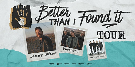 Danny Gokey: Better Than I Found It Tour
