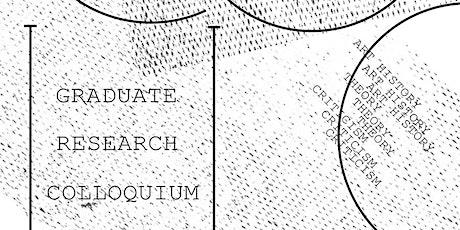 Graduate Research Colloquium tickets