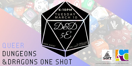 Queer Dungeons and Dragons One Shot