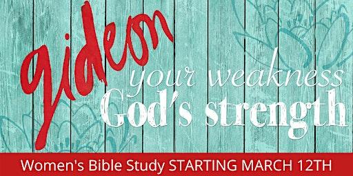 """Gideon"" Women's Bible Study"