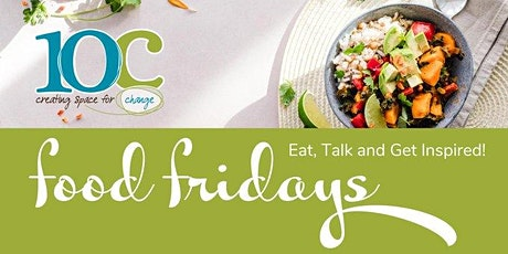 (Postponed until further notice) Food Friday's - eat, talk and get inspired tickets