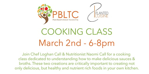 PBLTC - Cooking Class - Sauces & Broths!