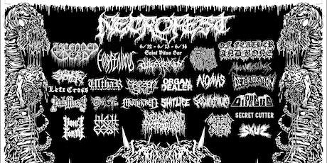 Necrofest 2020 w Ascended Dead, Sanguisugabogg, Outer Heaven, Ilsa, & More tickets