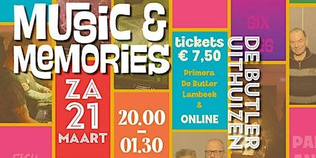 Music & Memories 2020 tickets