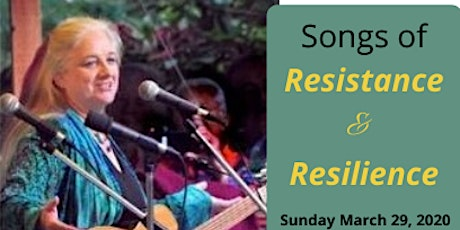 Songs of Resistance and Resilience tickets